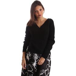 textil Dame Pullovere Fracomina FR19FM836 Sort