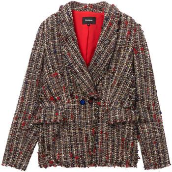 textil Dame Jakker / Blazere Desigual 19WWEWCM Sort