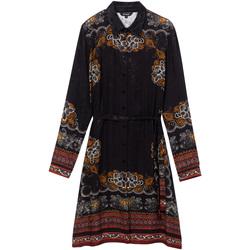 textil Dame Korte kjoler Desigual 19WWVW34 Sort