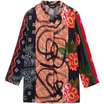 textil Dame Skjorter / Skjortebluser Desigual 19WWCW11 Sort