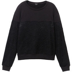 textil Dame Sweatshirts Desigual 19WWSK34 Sort