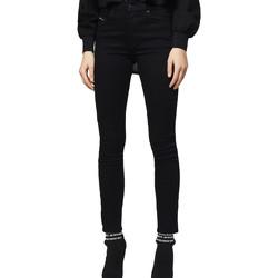 textil Dame Smalle jeans Diesel 00STRN 069EF Sort