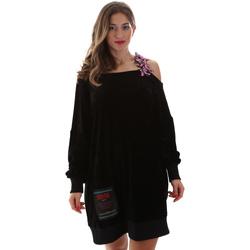 textil Dame Korte kjoler Versace B6HUB77011684899 Sort