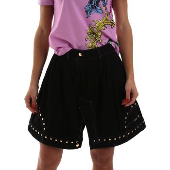textil Dame Nederdele Versace A9HUB301APD3W899 Sort