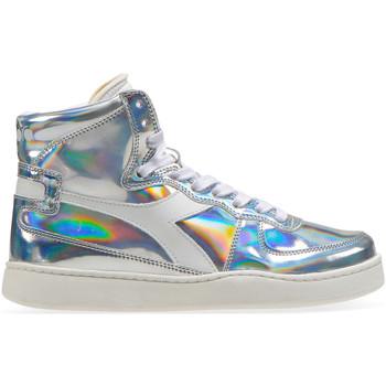 Sko Dame Høje sneakers Diadora 201.175.511 Sølv