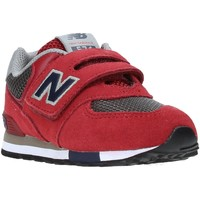 Sko Børn Lave sneakers New Balance NBIV574FNB Rød