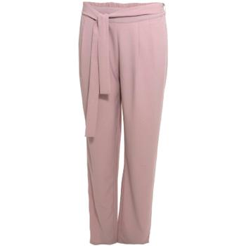 textil Dame Løstsiddende bukser / Haremsbukser Smash S1829415 Lyserød