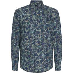 textil Herre Skjorter m. lange ærmer Calvin Klein Jeans K10K105411 Blå