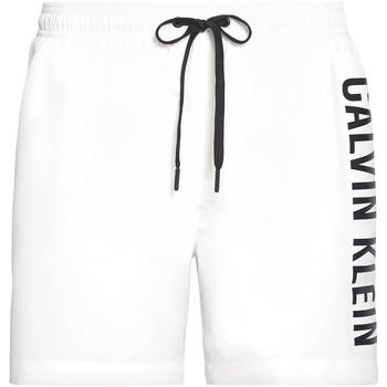textil Herre Badebukser / Badeshorts Calvin Klein Jeans KM0KM00452 hvid