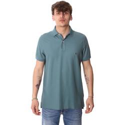 textil Herre Polo-t-shirts m. korte ærmer Tommy Hilfiger MW0MW12569 Grøn