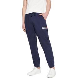 textil Herre Træningsbukser Tommy Jeans DM0DM07817 Blå