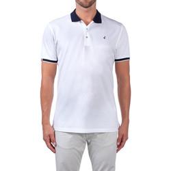 textil Herre Polo-t-shirts m. korte ærmer Navigare NV72058 hvid