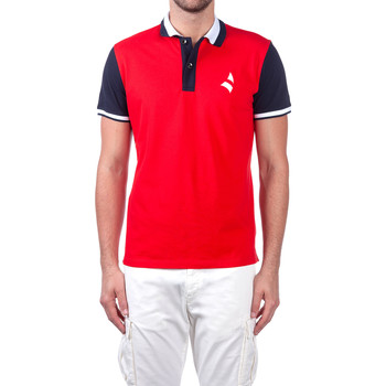 textil Herre Polo-t-shirts m. korte ærmer Navigare NV82115 Rød