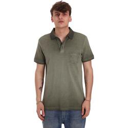 textil Herre Polo-t-shirts m. korte ærmer Gaudi 011BU64017 Grøn
