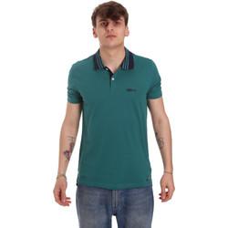 textil Herre Polo-t-shirts m. korte ærmer Gaudi 011BU64044 Grøn