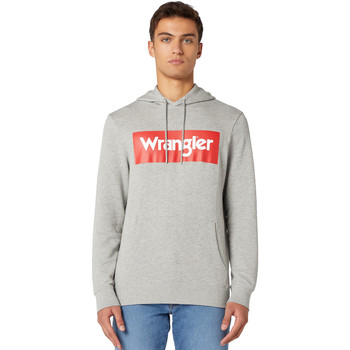 textil Herre Sweatshirts Wrangler W6B9HAX37 Grå