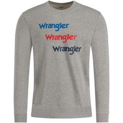 textil Herre Sweatshirts Wrangler W6A5HAX37 Grå