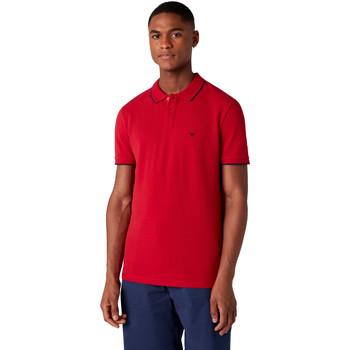 textil Herre Polo-t-shirts m. korte ærmer Wrangler W7D5K4X47 Rød