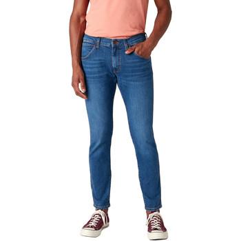 textil Herre Smalle jeans Wrangler W14XT112E Blå