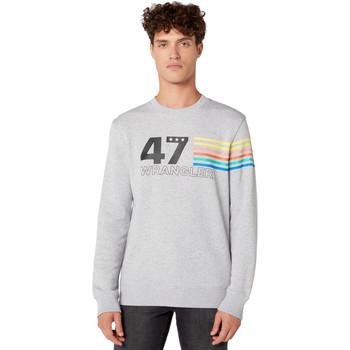 textil Herre Sweatshirts Wrangler W6A5HAX03 Grå