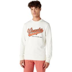 textil Herre Sweatshirts Wrangler W6A5HA737 hvid