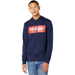 textil Herre Sweatshirts Wrangler W6B9HA114 Blå