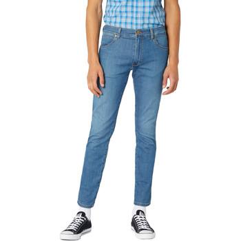 textil Herre Smalle jeans Wrangler W18SQ1156 Blå