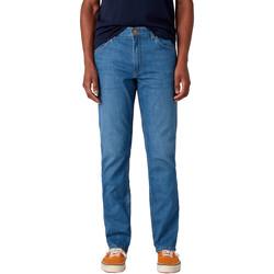 textil Herre Lige jeans Wrangler W15QQ1158 Blå
