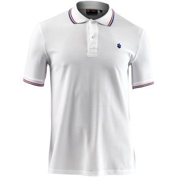 textil Herre Polo-t-shirts m. korte ærmer Lumberjack CM45940 009 506 hvid