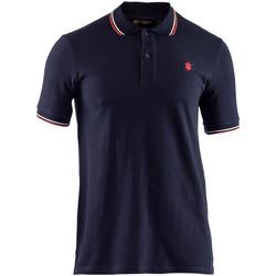 textil Herre Polo-t-shirts m. korte ærmer Lumberjack CM45940 009 506 Blå