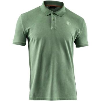 textil Herre Polo-t-shirts m. korte ærmer Lumberjack CM45940 007 516 Grøn