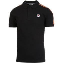 textil Herre Polo-t-shirts m. korte ærmer Fila 687645 Sort