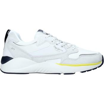 Sko Herre Lave sneakers Pepe jeans PMS30596 hvid