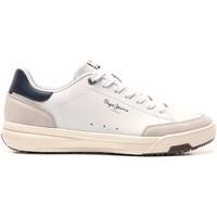 Sko Herre Lave sneakers Pepe jeans PMS30616 hvid