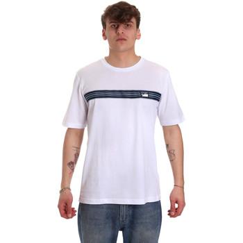 textil Herre T-shirts m. korte ærmer Antony Morato MMKS01686 FA100144 hvid