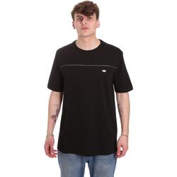 textil Herre T-shirts m. korte ærmer Antony Morato MMKS01696 FA100144 Sort