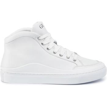 Sko Herre Høje sneakers Guess FM5LRH LEA12 hvid