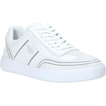 Sko Herre Lave sneakers Guess FM6NET LEA12 hvid