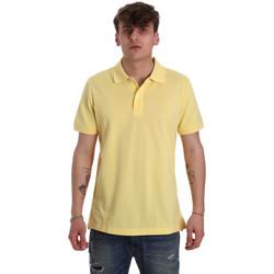 textil Herre Polo-t-shirts m. korte ærmer Geox M0210B T2649 Gul