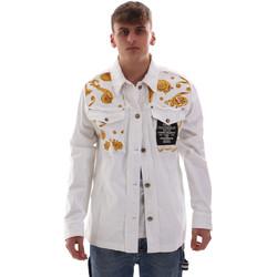 textil Herre Jakker Versace C1GVB92GHRC33003 hvid