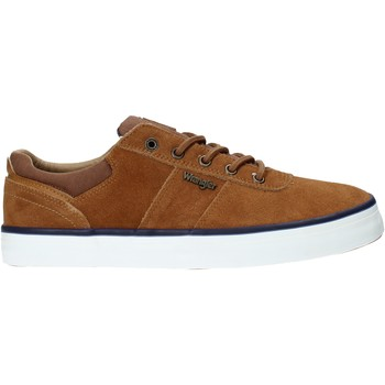 Sko Herre Lave sneakers Wrangler WM01004A Brun