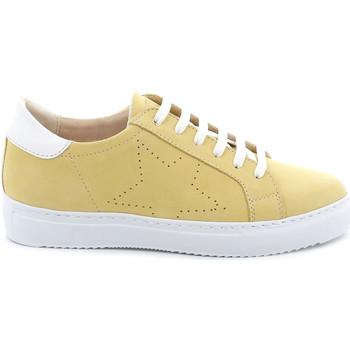 Sko Dame Lave sneakers Grunland SC4939 Gul