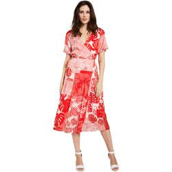 textil Dame Korte kjoler Gaudi 011FD15014 Rød