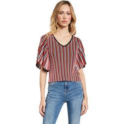textil Dame Toppe / Bluser Gaudi 011FD53001 Rød