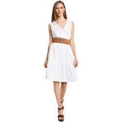 textil Dame Korte kjoler Gaudi 011BD15037 hvid