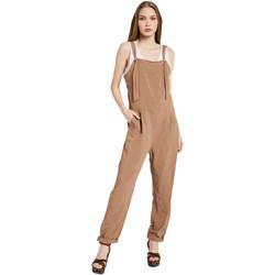 textil Dame Buksedragter / Overalls Gaudi 011BD25049 Brun