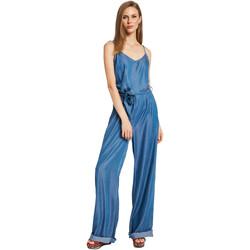textil Dame Buksedragter / Overalls Gaudi 011BD26038 Blå