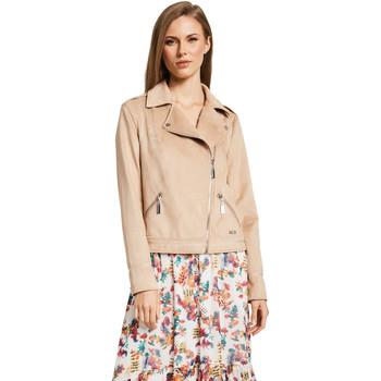 textil Dame Jakker / Blazere Gaudi 011BD38008 Beige