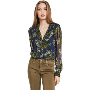 textil Dame Skjorter / Skjortebluser Gaudi 011BD45018 Blå
