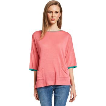 textil Dame Pullovere Gaudi 011BD53033 Lyserød